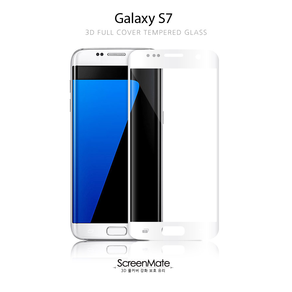 Galaxy S7 3D FULL COVER TEMPERED GLASS