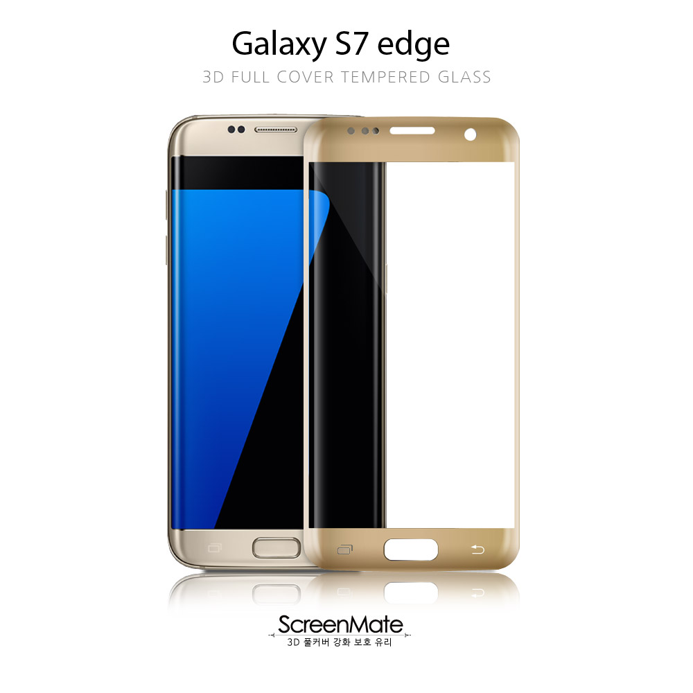 Galaxy S7 edge 3D FULL COVER TEMPERED GLASS